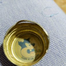 Coleccionismo de Coca-Cola y Pepsi: ANTIGUO TAPON DE ROSCA PEPSI COLA PERSONAJE DISNEY PETE PATA PALO. Lote 194370472