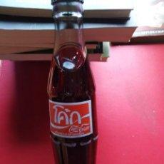 Coleccionismo de Coca-Cola y Pepsi: BOTELLA COCA COLA AÑO 70-80 SIN ABRIR RARA DE CRISTAL . Lote 194396110