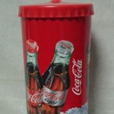 Coleccionismo de Coca-Cola y Pepsi: BOTE DISPENSADOR DE PAJITAS DE COCA COLA . Lote 194554173