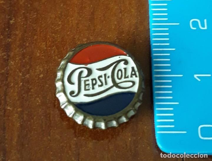 INSIGNIA ANTIGUA DE PEPSI-COLA (Coleccionismo - Botellas y Bebidas - Coca-Cola y Pepsi)