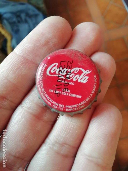 ANTIGUA CHAPA CORONA DE BOTELLA REFRESCO COCA COLA 2006 PROMOCION LAND ROVER FREELANDER CODIGO PROMO (Coleccionismo - Botellas y Bebidas - Coca-Cola y Pepsi)