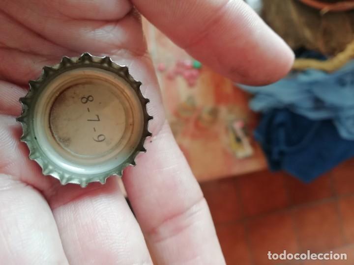 Coleccionismo de Coca-Cola y Pepsi: Antigua chapa corona de botella refresco Coca Cola 2006 promocion Land Rover Freelander codigo promo - Foto 3 - 194606453