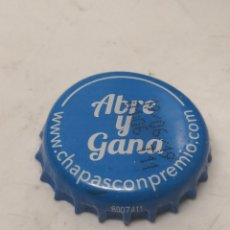 Coleccionismo de Coca-Cola y Pepsi: CHAPA REFRESCO SCHWEPPES PROMO ABRE Y GANA. CROWN CAP. (CP). Lote 194639150