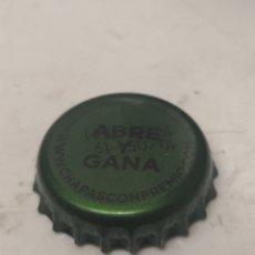 Coleccionismo de Coca-Cola y Pepsi: CHAPA REFRESCO SCHWEPPES. PROMO ABRE Y GANA. (CP). Lote 194639198