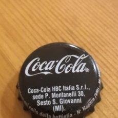 Coleccionismo de Coca-Cola y Pepsi: CHAPA COCA COLA ZERO ITALIA. CROWN CAP. Lote 194645261