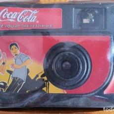 Coleccionismo de Coca-Cola y Pepsi: == ZZ15 - CAMARA DE FOTOS DE COCA COLA - SIN USAR. Lote 194764697