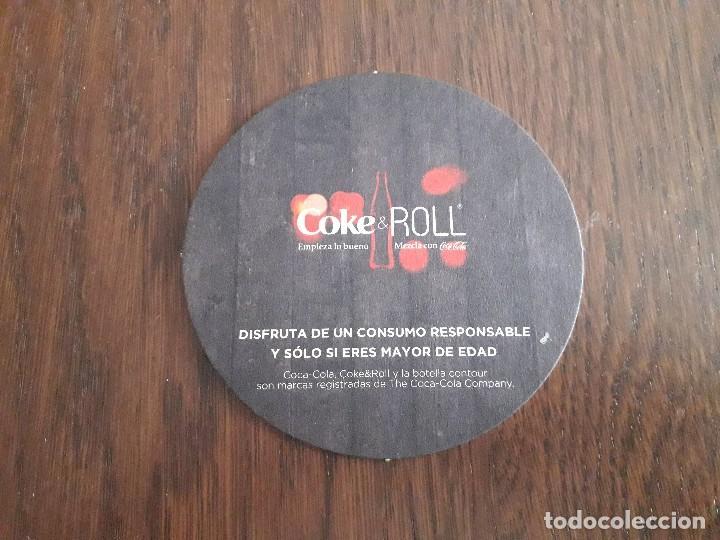 Coleccionismo de Coca-Cola y Pepsi: posavasos de coke & roll, dark velvet. receta coktail. - Foto 2 - 194899872