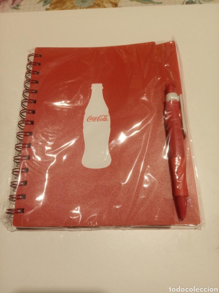 CUADERNO COCA-COLA (Coleccionismo - Botellas y Bebidas - Coca-Cola y Pepsi)