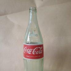 Coleccionismo de Coca-Cola y Pepsi: BOTELLA COCACOLA CRISTAL. Lote 195015670