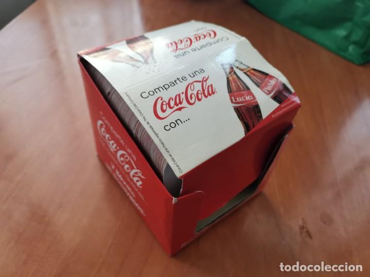 ESPECTACULAR COLECCION POSAVASOS COMPLETA NOMBRES COCA COLA NUEVO IMPECABLE ESPECIAL COLECIONISTAS (Coleccionismo - Botellas y Bebidas - Coca-Cola y Pepsi)