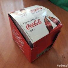 Coleccionismo de Coca-Cola y Pepsi: ESPECTACULAR COLECCION POSAVASOS COMPLETA NOMBRES COCA COLA NUEVO IMPECABLE ESPECIAL COLECIONISTAS. Lote 195020810