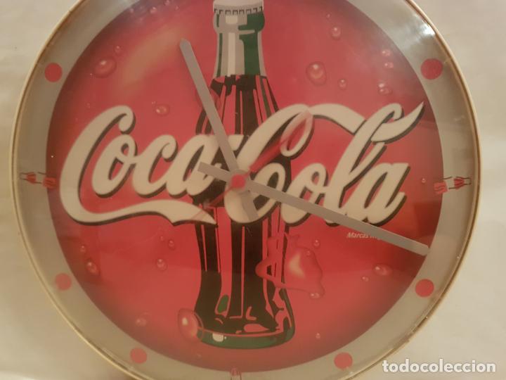 Coleccionismo de Coca-Cola y Pepsi: reloj de pared de cocacola funciona perfectamente esta probado ver fotos - Foto 8 - 195036076