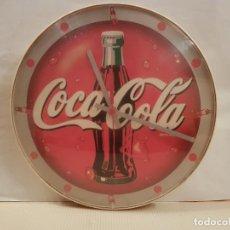 Coleccionismo de Coca-Cola y Pepsi: RELOJ DE PARED DE COCACOLA FUNCIONA PERFECTAMENTE ESTA PROBADO VER FOTOS. Lote 195036076