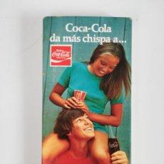 Coleccionismo de Coca-Cola y Pepsi: CAJA DE CERILLAS PUBLICIDAD COCA-COLA - REFRESCO COKE COCACOLA. Lote 195101373