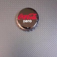 Coleccionismo de Coca-Cola y Pepsi: CHAPA CORONA COCA-COLA ZERO. FABRICANTE U. MARCA EN LA CORONA.. Lote 195120047