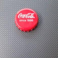 Coleccionismo de Coca-Cola y Pepsi: CHAPA CORONA COCA-COLA SINCE 1886. FABRICANTE DAP. Lote 195121680