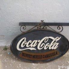 Coleccionismo de Coca-Cola y Pepsi: CARTEL COCACOLA. Lote 195143770