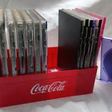 Coleccionismo de Coca-Cola y Pepsi: CAJA PORTA CD COCACOLA NUEVA . Lote 195173417