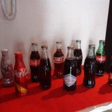 Coleccionismo de Coca-Cola y Pepsi: BOTELLINES DE COCA-COLA DIFERENTES AÑOS. Lote 195207276