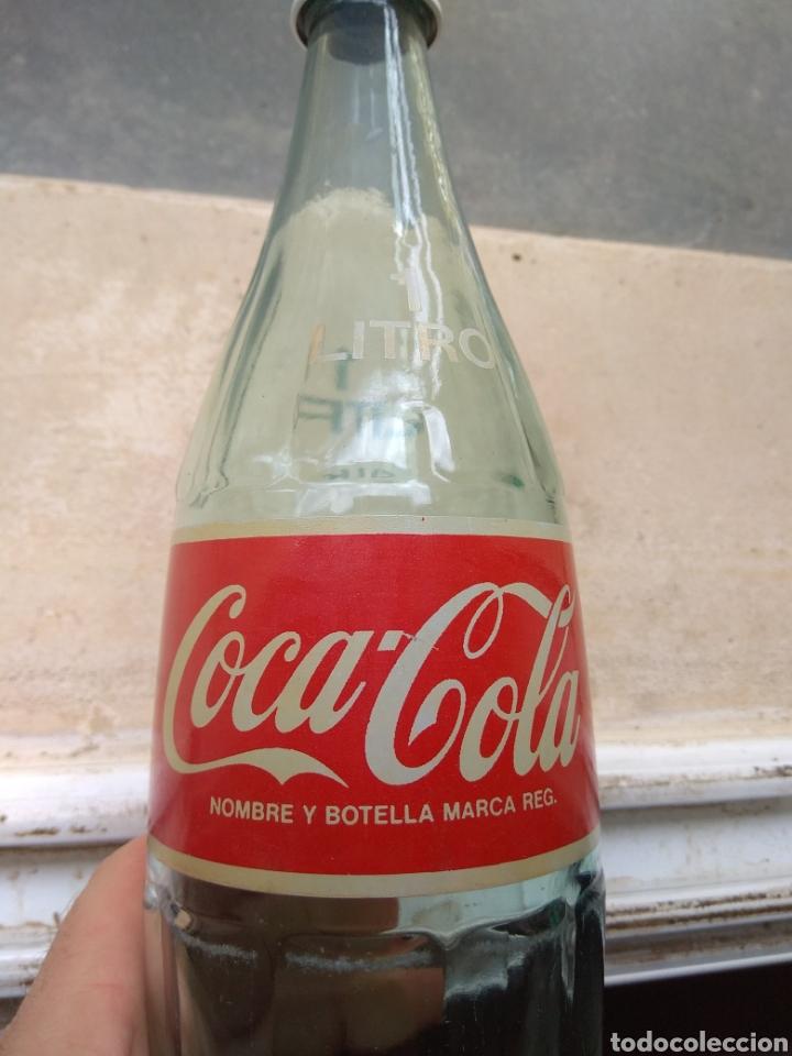 Coleccionismo de Coca-Cola y Pepsi: Botella de Coca Cola de 1 Litro - año 1989 - - Foto 3 - 195232465