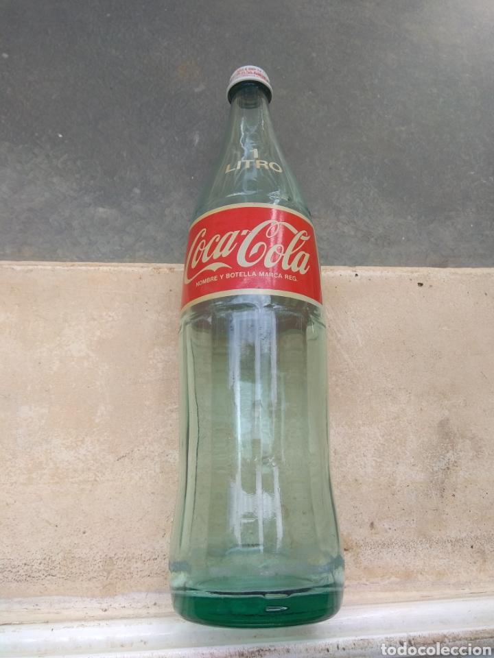 Coleccionismo de Coca-Cola y Pepsi: Botella de Coca Cola de 1 Litro - año 1989 - - Foto 6 - 195232465