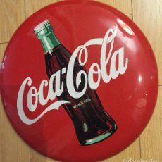 Coleccionismo de Coca-Cola y Pepsi: CHAPA COCA COLA 40 CM DE DIAMETRO. Lote 195276052