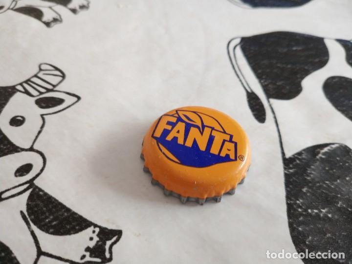 CHAPA FANTA NARANJA 2 (U) (Coleccionismo - Botellas y Bebidas - Coca-Cola y Pepsi)