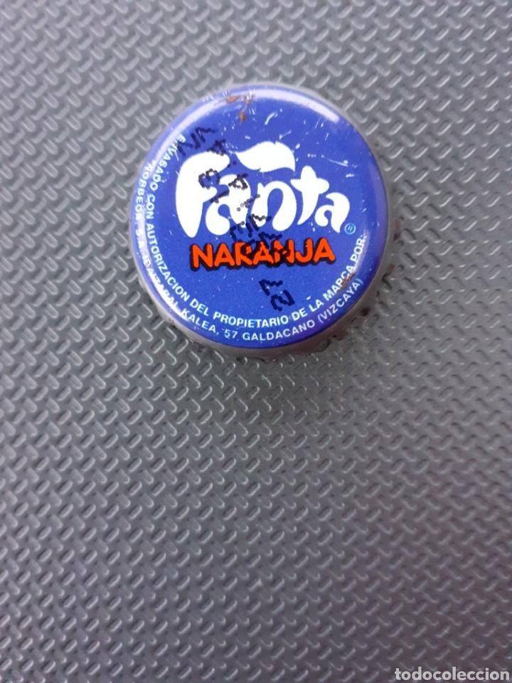 CHAPA CORONA FANTA NARANJA VIZCAYA. FABRICANTE Z. (Coleccionismo - Botellas y Bebidas - Coca-Cola y Pepsi)