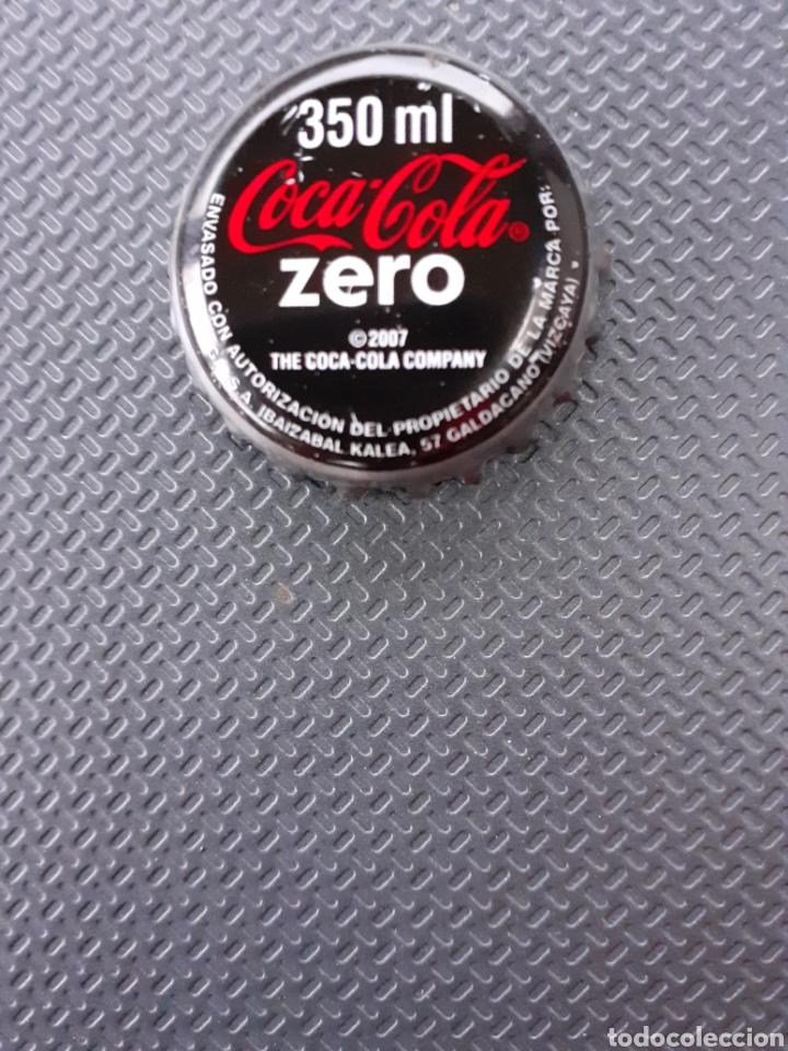 CHAPA CORONA COCA-COLA ZERO 350 VIZCAYA. TCI. (Coleccionismo - Botellas y Bebidas - Coca-Cola y Pepsi)