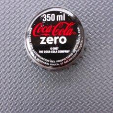 Coleccionismo de Coca-Cola y Pepsi: CHAPA CORONA COCA-COLA ZERO 350 VIZCAYA. TCI.. Lote 195311007
