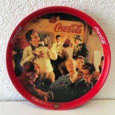 Coleccionismo de Coca-Cola y Pepsi: BANDEJA COCA-COLA - RETRO, COCACOLA, METAL, 27CMS // (4). Lote 195422668