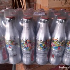 Coleccionismo de Coca-Cola y Pepsi: LOTE BOTELLAS COCA-COLA DESTAPA TU TALENTO . 2010 . Lote 195434478