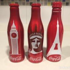 Coleccionismo de Coca-Cola y Pepsi: BOTELLAS ALUMINIO COCA COLA. Lote 195447631