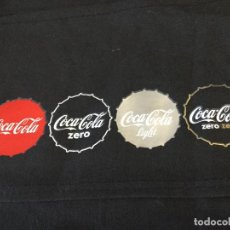Coleccionismo de Coca-Cola y Pepsi: COCA COLA ,ZERO ,LIGHT,ZERO ZERO - DELANTAL CAMARERO. Lote 195455953