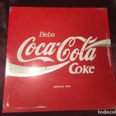 Coleccionismo de Coca-Cola y Pepsi: CARTEL CHAPA COCA COLA DOBLE CARA. Lote 195578782