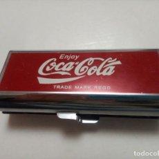 Coleccionismo de Coca-Cola y Pepsi: CIGARRERA DE COCA COLA. Lote 195660092