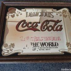 Coleccionismo de Coca-Cola y Pepsi: ANTIGUO CARTEL MODERNISTA PUBLICIDAD DE COCA-COLA. Lote 195714155