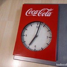 Coleccionismo de Coca-Cola y Pepsi: RELOJ METALICO COCA COLA. Lote 196313883