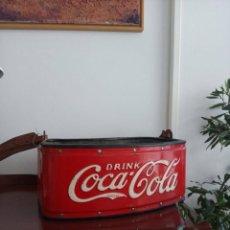 Coleccionismo de Coca-Cola y Pepsi: NEVERA AMBULANTE *COCA COLA* AÑOS 30 LEER DESCRIPCIÓN!!. Lote 196771975