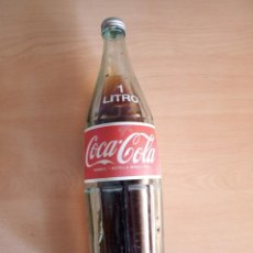 Coleccionismo de Coca-Cola y Pepsi: BOTELLA COCACOLA 1 LITRO. Lote 197062152
