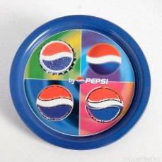 Coleccionismo de Coca-Cola y Pepsi: BANDEJA METÁLICA PEPSI. AÑOS 90. Lote 197346578