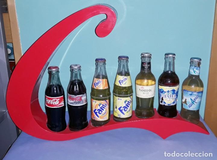 EXPOSITOR DE COCA COLA VINTAGE ORIGINAL (Coleccionismo - Botellas y Bebidas - Coca-Cola y Pepsi)