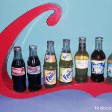 Coleccionismo de Coca-Cola y Pepsi: EXPOSITOR DE COCA COLA VINTAGE ORIGINAL. Lote 198472998