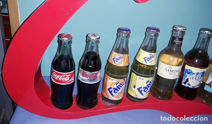 Coleccionismo de Coca-Cola y Pepsi: EXPOSITOR DE COCA COLA VINTAGE ORIGINAL - Foto 2 - 198472998