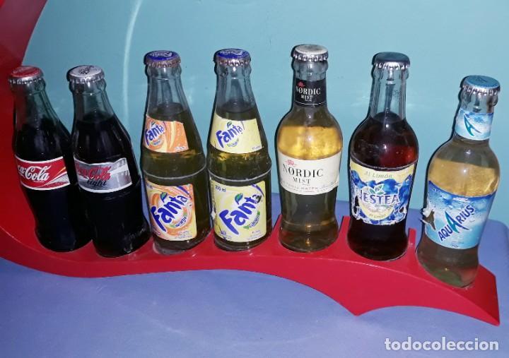 Coleccionismo de Coca-Cola y Pepsi: EXPOSITOR DE COCA COLA VINTAGE ORIGINAL - Foto 3 - 198472998