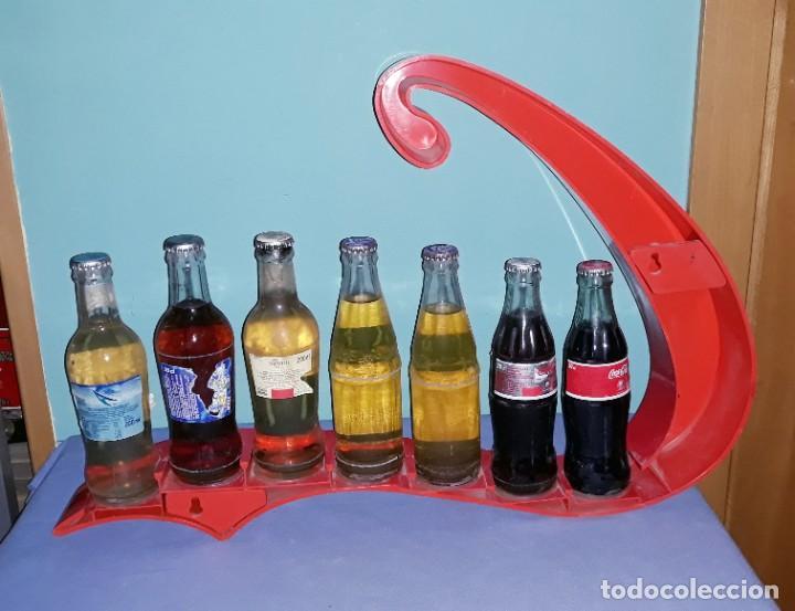 Coleccionismo de Coca-Cola y Pepsi: EXPOSITOR DE COCA COLA VINTAGE ORIGINAL - Foto 4 - 198472998