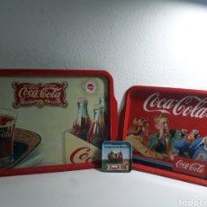 Coleccionismo de Coca-Cola y Pepsi: BANDEJA DE COCA-COLA VINTAGE DE HOJALATA ,MUNDIAL ESPAÑA 82 ,. Lote 200180032