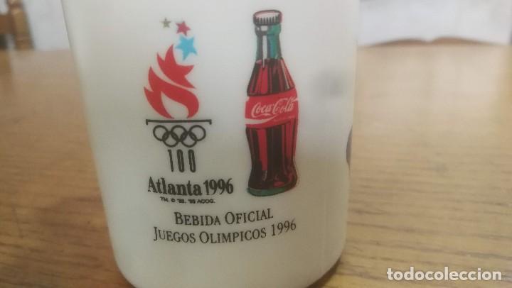 Coleccionismo de Coca-Cola y Pepsi: COCA COLA TAZA DE PLASTICO JUEGOS OLIMPICOS ATLANTA 1996 - Foto 3 - 200367617