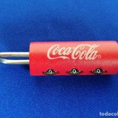 Coleccionismo de Coca-Cola y Pepsi: COCA-COLA - CANDADO. Lote 200590683