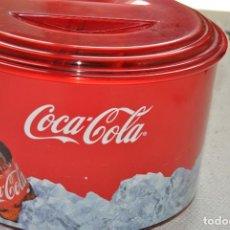 Coleccionismo de Coca-Cola y Pepsi: CUBITERA COCA COLA DE PLASTICO. Lote 200638288